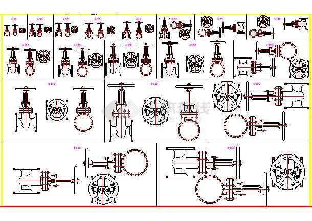 马桶排水阀结构图图片
