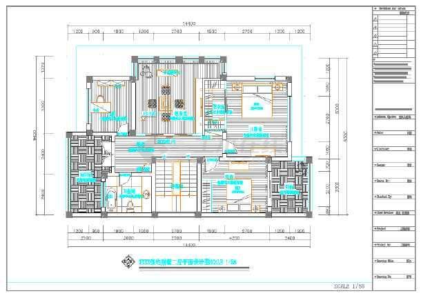 某户式别墅数码多联空调设计施工图纸