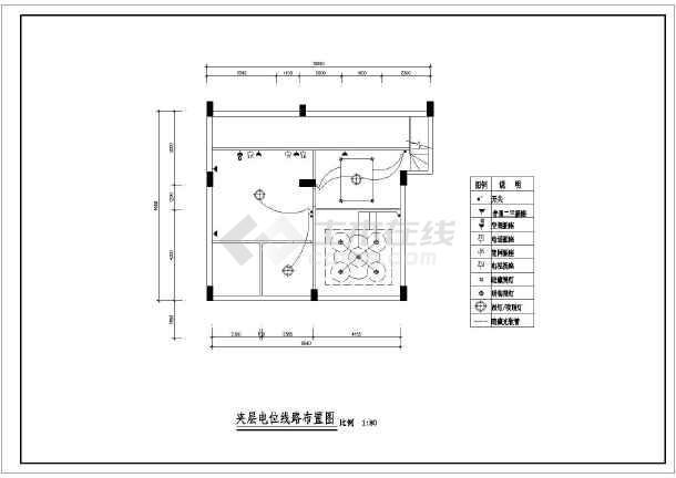 某现代风格图纸楼装饰装修设计施工复式刨v风格图纸手图片