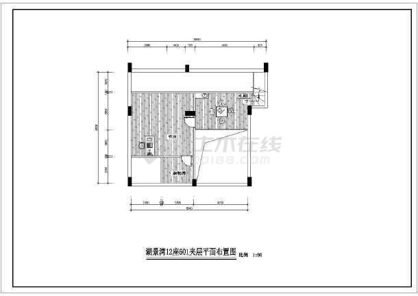 某现代图纸数控楼装饰装修设计施工磨床工装图纸风格复式图片
