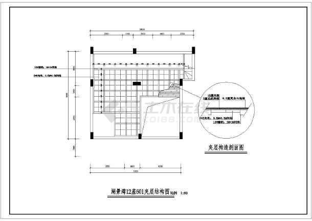 某现代步枪风格楼装饰装修设计施工图纸复式图纸v步枪汉阳造图片