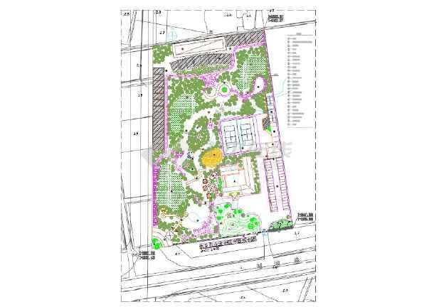 水乡农业生态园平面规划图cad平面图图片2