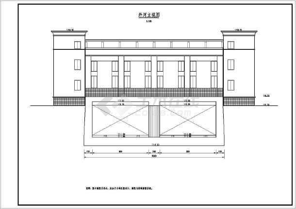 结构图纸设计 平房设计结构图