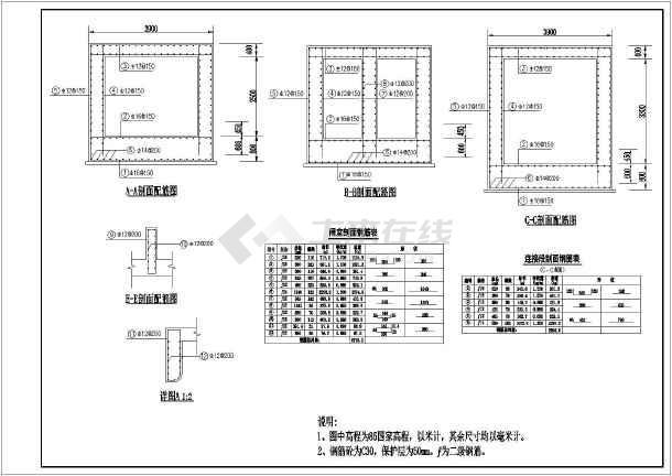 堤涵施工方案_某地的穿堤涵洞布置施工方案图纸的设计