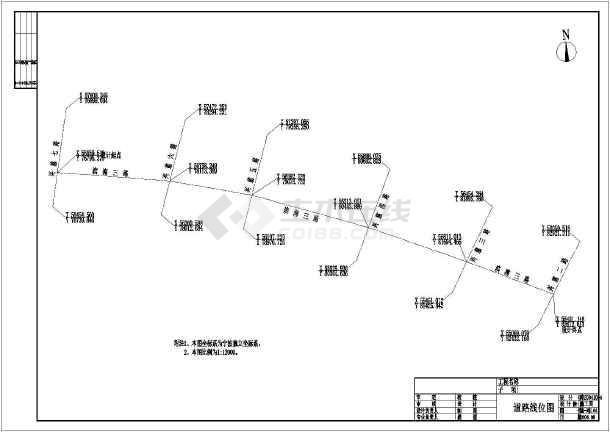 某地市政道路全套施工图