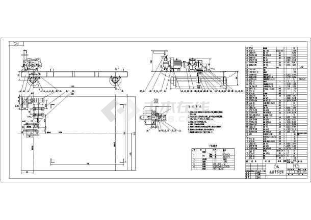 某全套用5T施工图纸套件电动套装_cad图纸下修复平车掠食图纸隧道图片