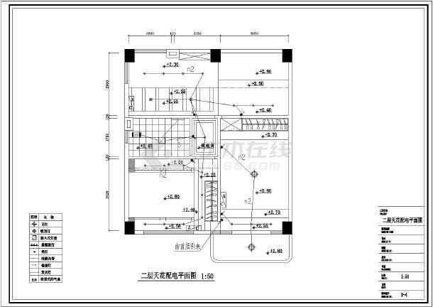 某现代典雅复式住宅楼电气设计设计图