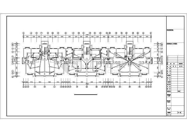 某地弱电机房内部设计施工图