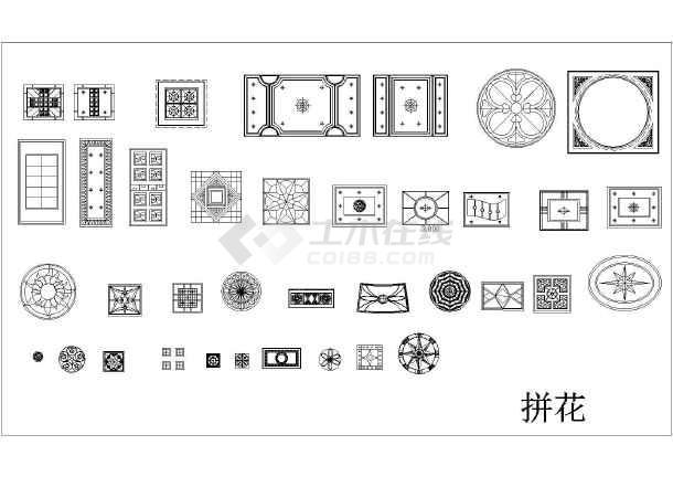 2015最新最全装修常用CAD素材图例-图1