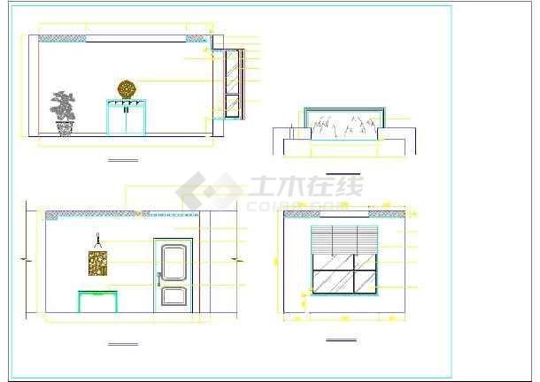 二层农村房屋装修设计图(含水电)图片2