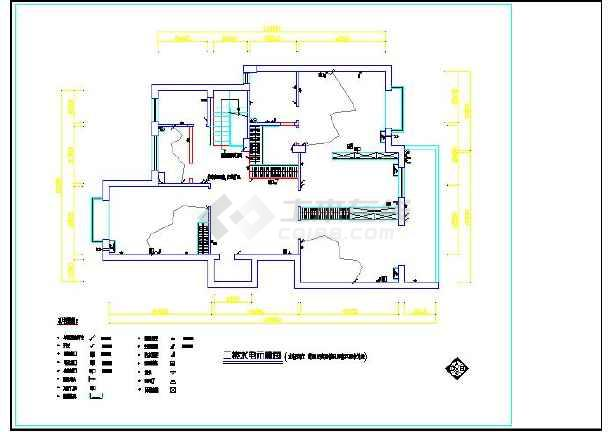 二层农村房屋装修设计图(含水电)图片3