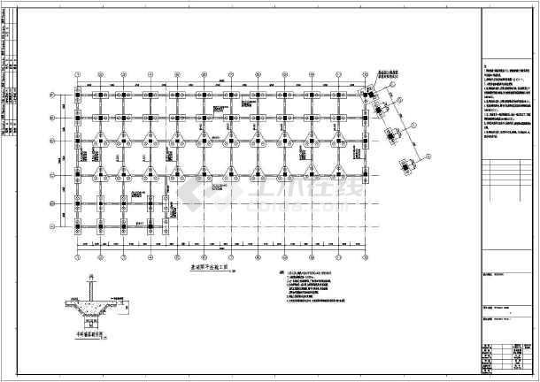 某地房屋抗震框架结构设计施工图纸