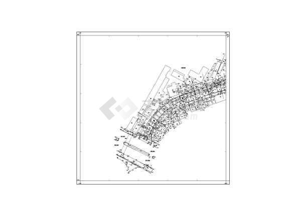 下市涌整治工程水闸设计结构钢筋图