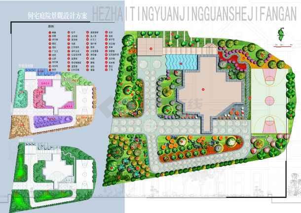 【别墅景观设计】别墅景观设计_cad图纸下载_土木在线