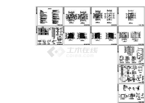 温州别墅施工图