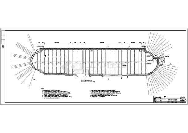 深圳某商场基坑支护结构设计施工图图片