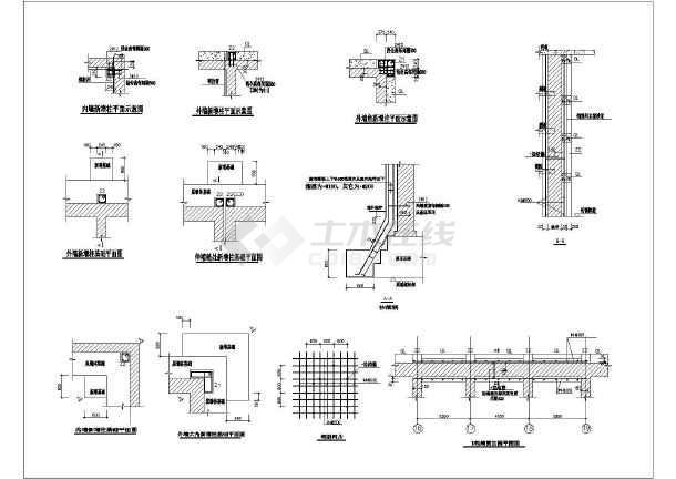 某地区多层砖混抗震加固结构施工图