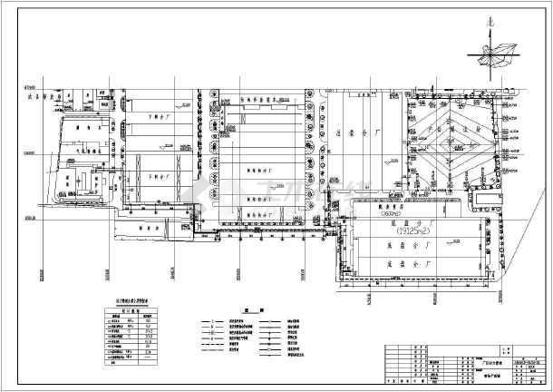 厂区动力管网(蒸汽,热水,回水)设计图纸图片
