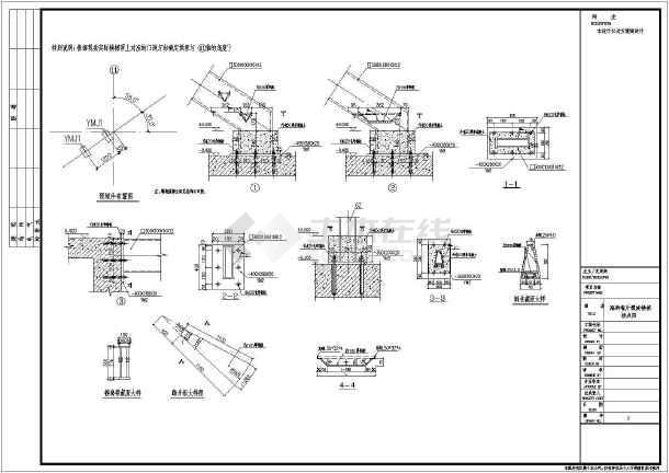 某地海鲜餐厅箱形梁螺旋楼梯施工图纸