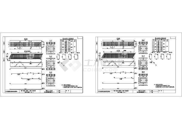 25-40土木币 立即下载  收藏此图纸 简介:本图为桥梁盖梁设计桥台盖梁