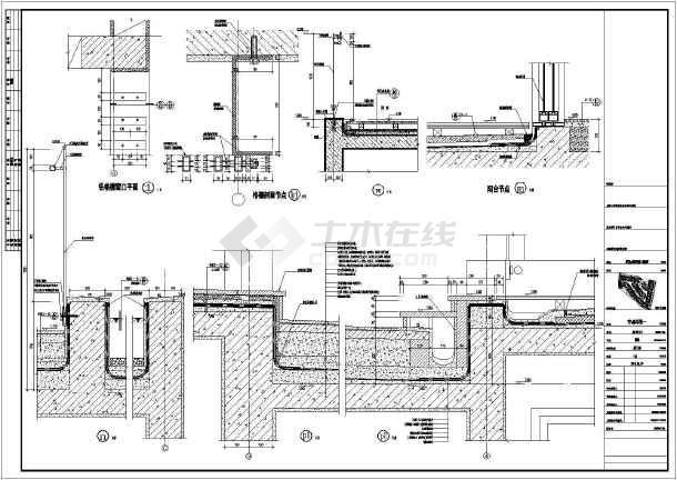 珠海某2层框架结构别墅建筑方案设计图图片
