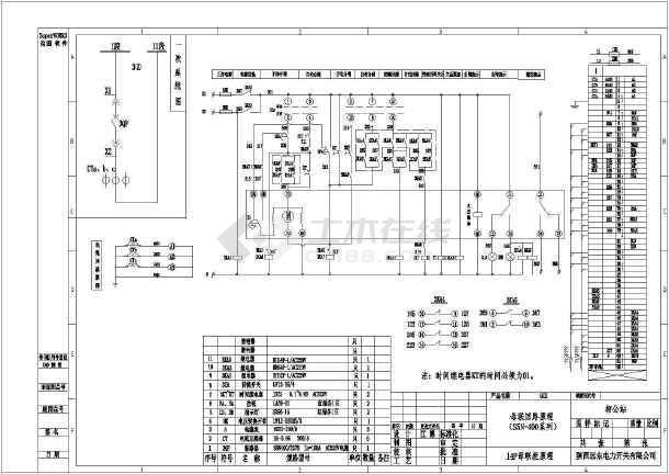 联络柜低压配电柜电气图低压开关柜电气图双电源进线柜开关柜电气设计