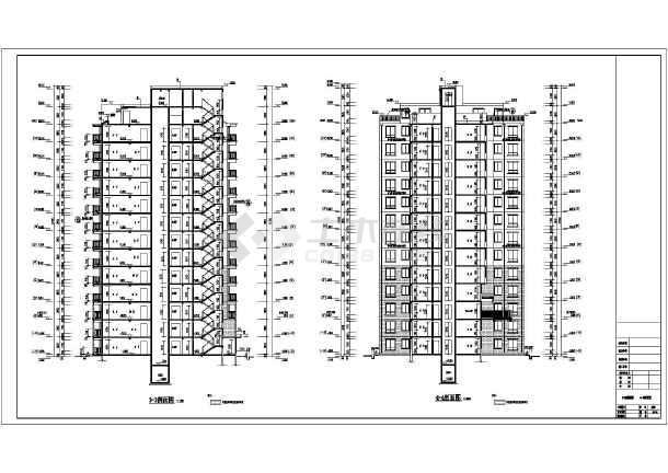 层平面图,屋面平面图,各立面图,各剖面图,楼电梯详图,门窗表及大样,墙