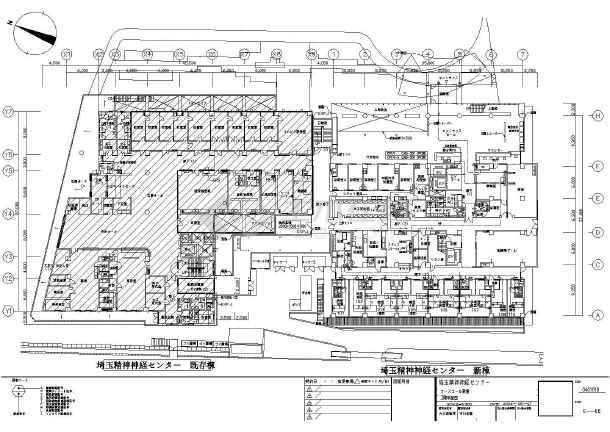某医院框架结构建筑施工图图片1