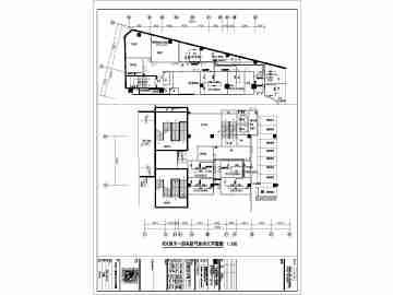 某结构高层框架小区地下室系统v结构景观设计图仿生气体设计图图片