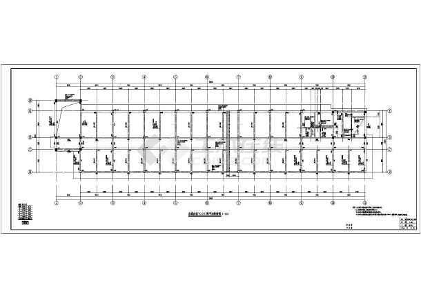 某材料学院教学楼结构设计施工图纸
