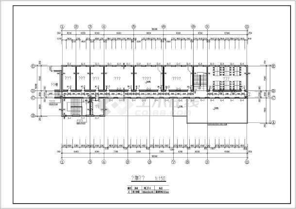 图纸内容主要包含:建筑设计说明,各层平面图,屋顶平面图,各立面图,各
