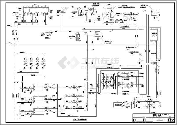 河南郑州某高层办公楼空调设计施工图