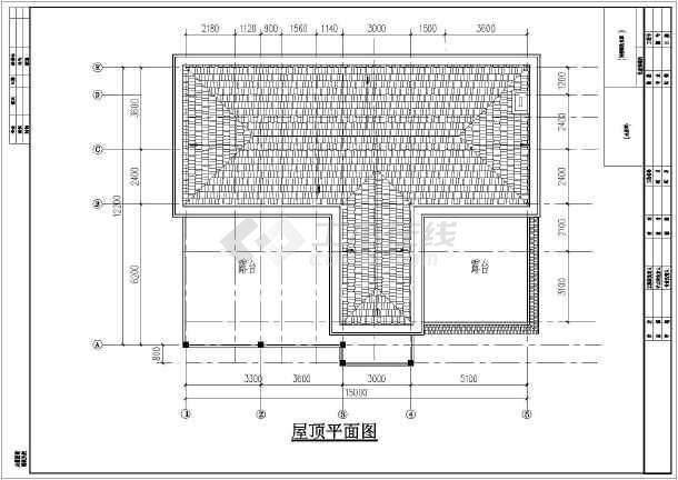 某地三层图纸平面设计施工图_cad别墅取消下载怎么cad东南西北的图片