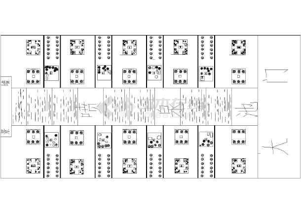 【陕西】大雁塔北广场全套植物配置图图片1