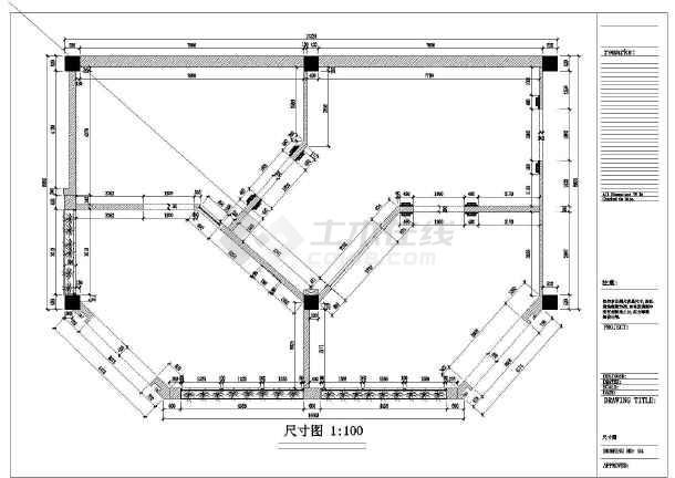 某地区材料专卖店装修设计图纸(含家具说明)上海市室内设计资质图片