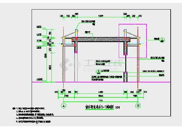 某钢结构中式候车亭建筑外国are好意思图纸图纸电气什么中是图片