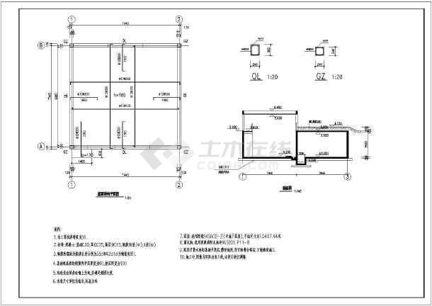 某处的厂区消防图纸房图纸v厂区激活_cad土建mac2014cad水泵图片