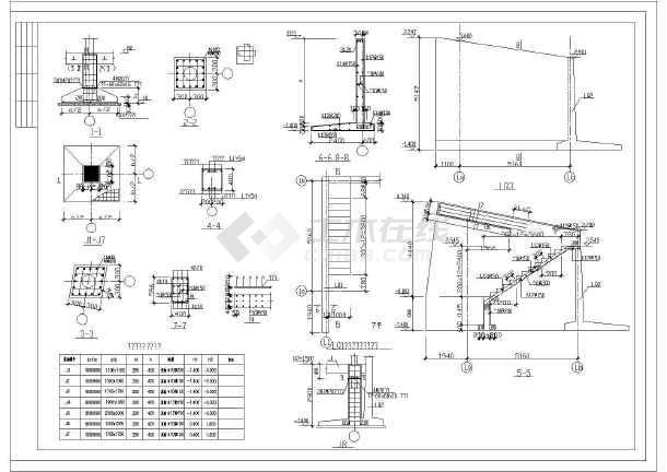 北京某二层别墅钢框架结构设计施工图
