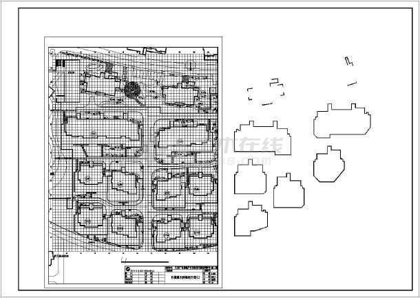 某小区园林绿化工程设计施工说明全套图