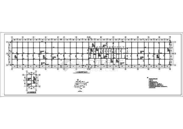 某地单层综合站房及消防水池全套结构施工图