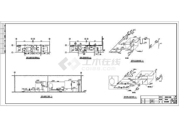 设计图,各层给排水平面图,系统图(给水,排水,消防),卫生间和厨房大样