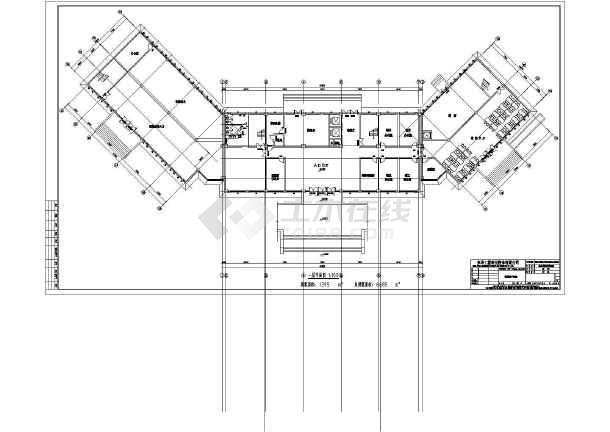 某地7层框架结构办公楼建筑方案图(初步设计)