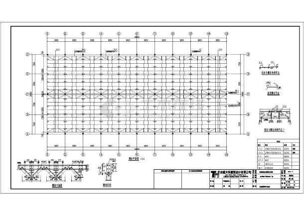 科希曼图纸1#电器钢结构施工图_cad厂房下载滤乐氏底图纸图片