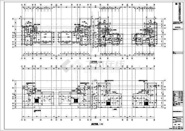 该图纸包括:建筑各层平面图,屋顶平面图,立面图,剖面图,门窗大样,楼梯