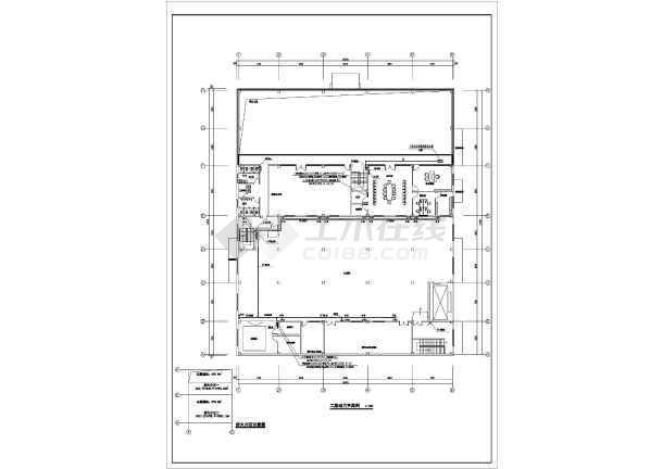 图纸 电气图纸 公共建筑 其他公共建筑电气设计施工图 甲级院某汽车4s