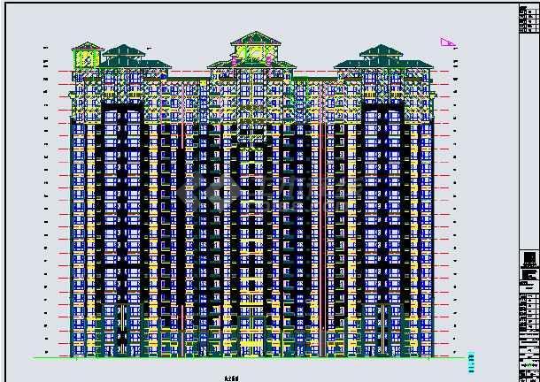 安某项目剪力墙结构居民建筑蓝图