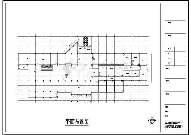 【湖北】某农村卫生室建筑施工全套图