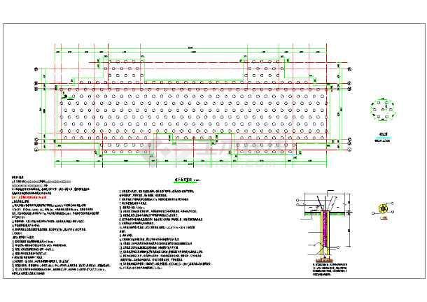 锤击预应力混凝土图纸地基处理说明_cad管桩td4c2图纸图片