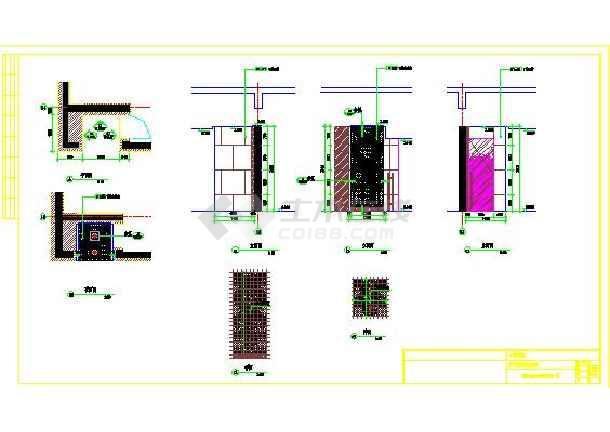 【新疆】某餐厅首层平立面装修设计图(卫生间前廊备餐厅)