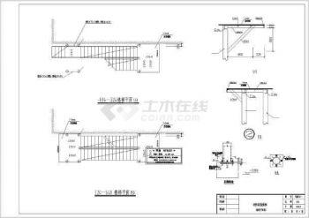 【楼梯平面图】非常实用的室外消防钢出处CA图纸会审楼梯图片